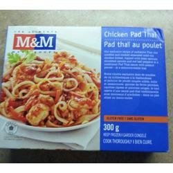 M&M;Food Market Gluten-free Chicken Pad Thai
