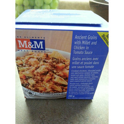 M&M;Food Market Gluten-free Ancient Grains with Millet and Chicken in Tomato Sauce