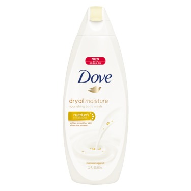 Dove Dry Oil Moisture Body wash with Argan Oil