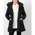 Quilted puffer jacket with hood From Suzy shier