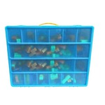 LEGO Bricks ® Compatible Storage Case With Carrying Handle