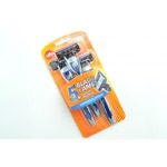 Life Brand 5 Blade and Trimmer Disposable Razors (Men's)