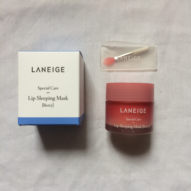 Laneige Lip Sleeping Mask Reviews In Balms Treatments Image Gallery