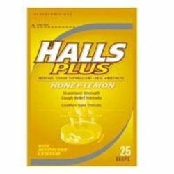 Halls Plus Cough Drops