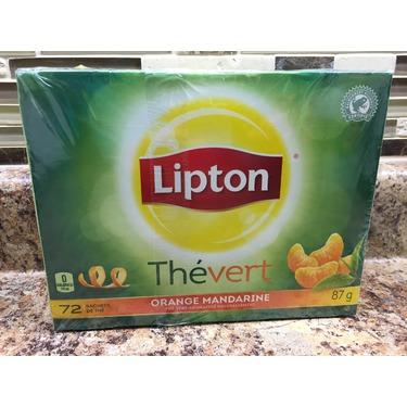 Lipton Green Tea Mandarin Orange 72ct