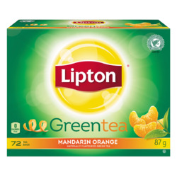Lipton Green Tea Mandarin Orange 72ct