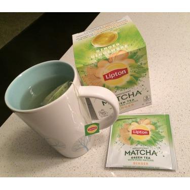 Lipton Green Tea Matcha Ginger