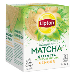 Lipton Green Tea Matcha Ginger