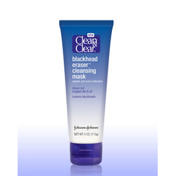 Clean and Clear Blackhead Eraser Cleansing Mask
