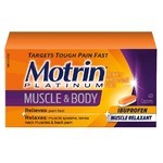 Motrin Platinum Muscle and Body