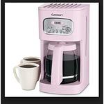 Cuisinart Pink 12-cup Programmable Coffeemaker