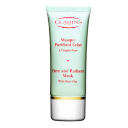 Clarins Pure and Radiant Mask With Pink Clay
