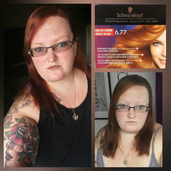 Schwarzkopf Keratin anti age hair color