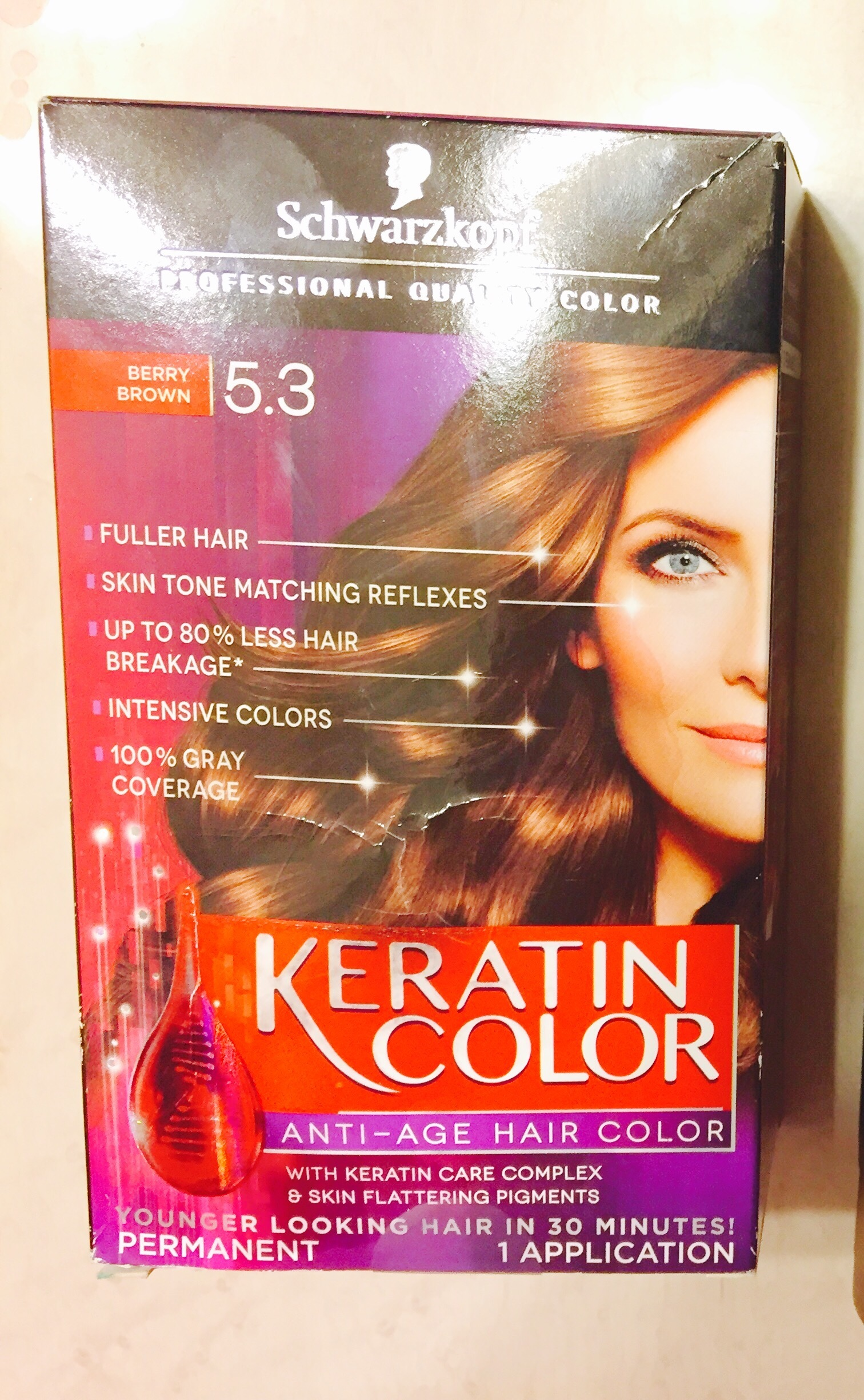 Image Is Loading Keratin Color Anti Age Hair 4 3