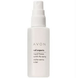 Avon Nail Experts Liquid Freeze Quick Dry Spray