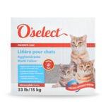 O'S O'SELECT Litière agglomérante et parfumée multi-chats