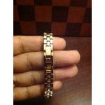 Time100 Rose Gold Chain Watch