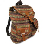 Oaxaca Mexican Patterned Backpack.. Unique and Cute!