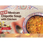 Tim Horton's Mexican Chipotle Soup with Chicken