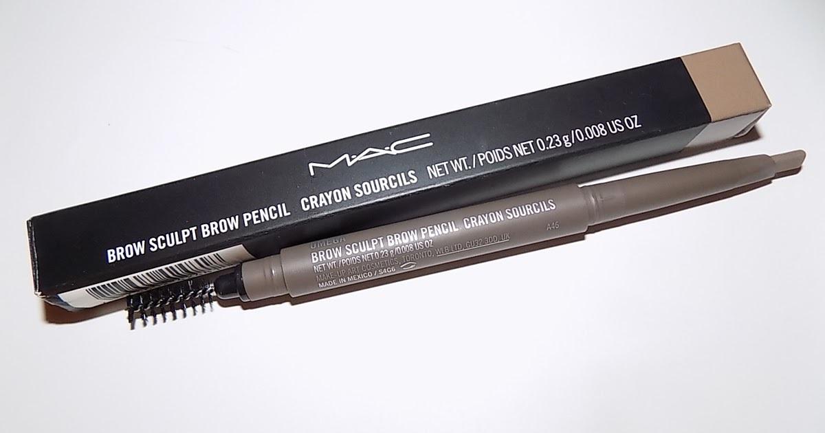 Mac Brow Sculpt Brow Pencil Reviews In Eyebrow Care Chickadvisor