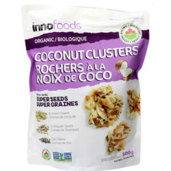 Inno Specialty Foods Organic Coconut Clusters with super seeds