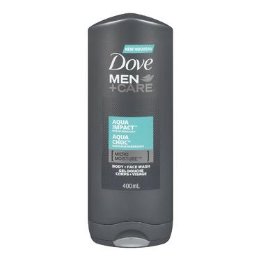 Dove Men +Care Aqua Impact Micro Moisture Body + Facewash