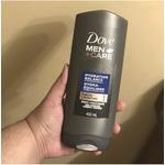 Dove Men +Care Hydration Balance Micro Moisture Body + Face Wash