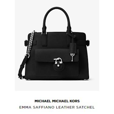 Michael Kors Emma Saffiano Leather Satchel