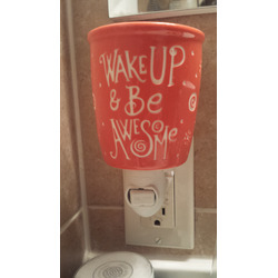 Scentsy warmer - Wake Up and Be Awesome plug-in