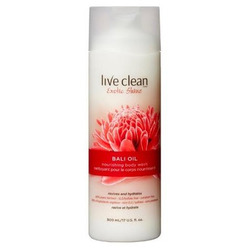 Live clean body wash
