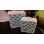 White & Aqua TreIlis Jewelry Box Set