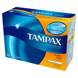 Tampax flushable super absorbent
