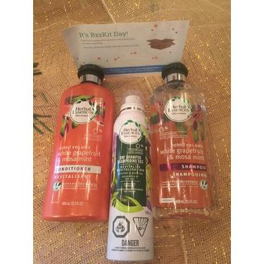 Herbal Essances Naked Volume White Grapefruit & Mossa Mint Shampoo