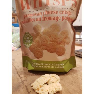 Cello Whisps Parmesan Cheese Crisps