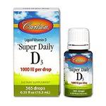 Carlson Super Daily D3 Liquid Vitamin D Drops