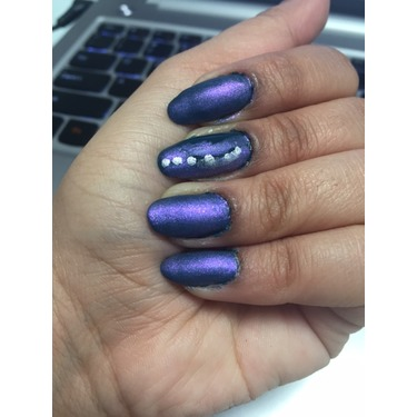 revlon nail enamel in Matte Pearl Glaze (785)
