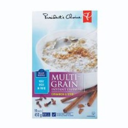 President's Choice Multigrain Oatmeal