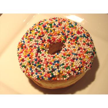 Tim Horton Vanilla Dip Donut