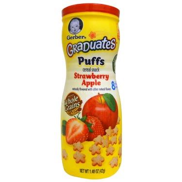 Gerber Puffs Strawberry Apple