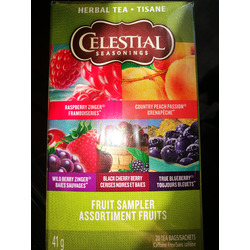 Celestial Seasonings Fruit Sampler Tea