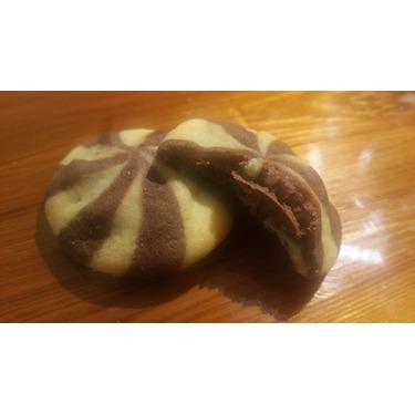 Nutella mini swirl cookie