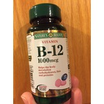 Nature's Bounty Vitamin B-12 Coated Tablets