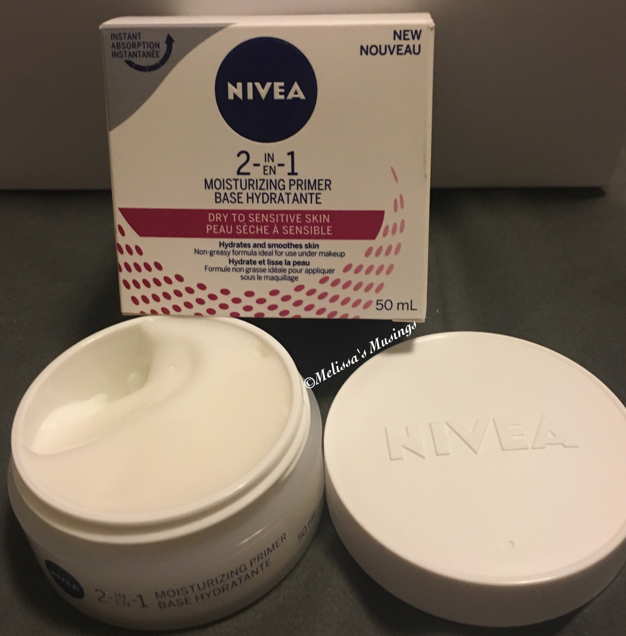 Nivea 2 In 1 Moisturizing Primer Dry To Sensitive Skin