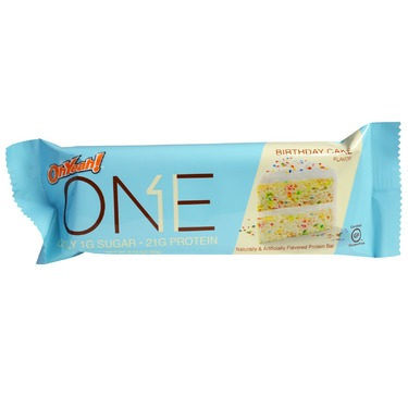Oh Yeah ONE Protein Bar Birthday Cake Flavour