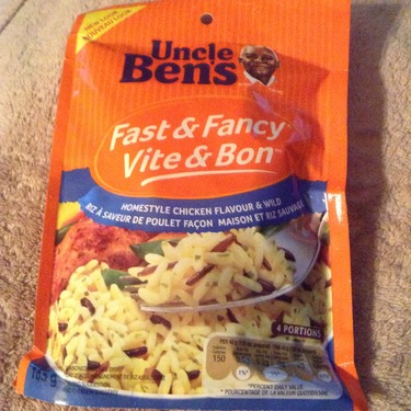 Uncle Ben's Fast & Fancy Homestyle Chicken Flavour & Wild Rice
