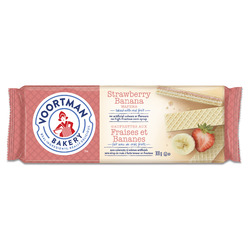 Voortman Strawberry Banana Wafers