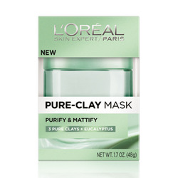 L'Oreal Paris Pure-Clay Purifying and Mattifying Mask