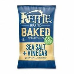 Kettle Baked Potato Chips - Sea Salt + Vinegar