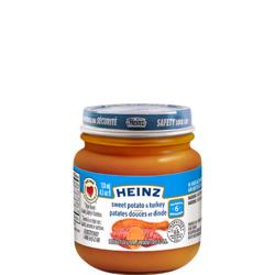 Heinz Baby Food Sweet Potato and Turkey