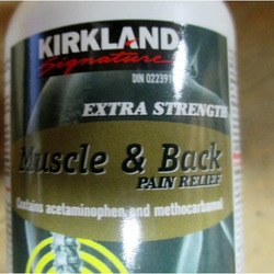 Kirkland Muscle and Back Pain Relief